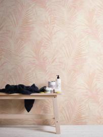 tropical floral behangpapier rose 37411-4