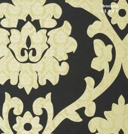 geel barok behang 45947