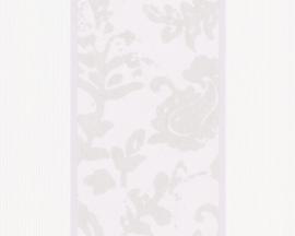 Schöner Wohnen bloemen behangpapier 2686-17 grijs