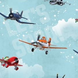 Disney Planes behang 70-237 vliegtuig
