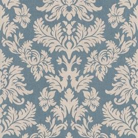 Barok Behang Blauw 474350