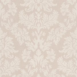 Barok Behang créme beige 474336