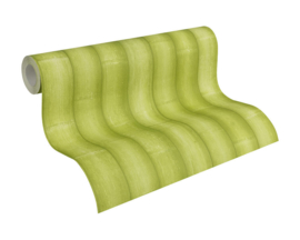 bamboe behangpapıer groen 96184-3