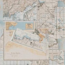 Rivièra Maison behang 18272 Oceans