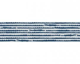 Oilily Home krokodillen behangrandpapier 96129-2 blauw