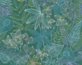 Colibri behang 36630-2 bloemen