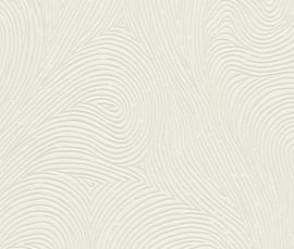 Strepen Off-White Behang 726862