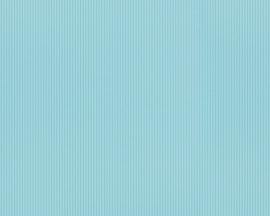 Behangpapier Uni blauw 9087-66