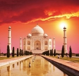 fotobehang art. 70066 Taj Mahal