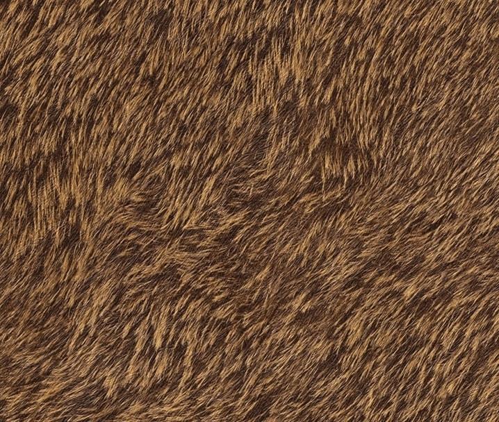 Bont behang donkerbruin 514520