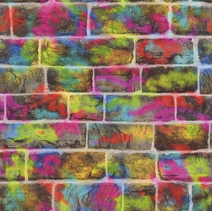 behangpapier 291407 steen  graffiti