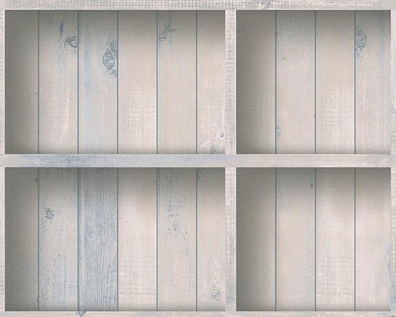 Behangpapier Hout  Beige 95949-1