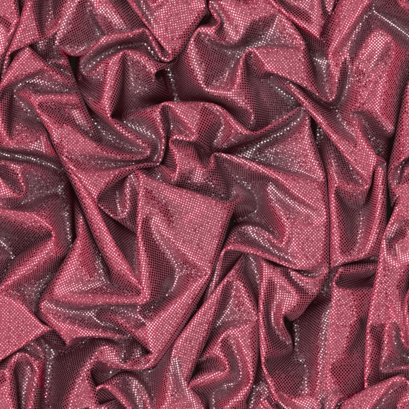 Rood, Grijs Satijn Behang  L142-10