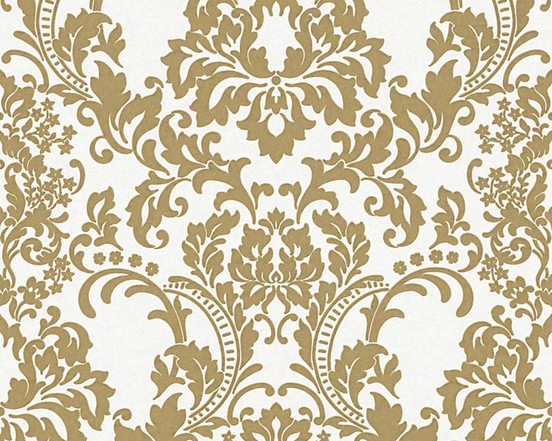 Goud barok behang vlies 964625