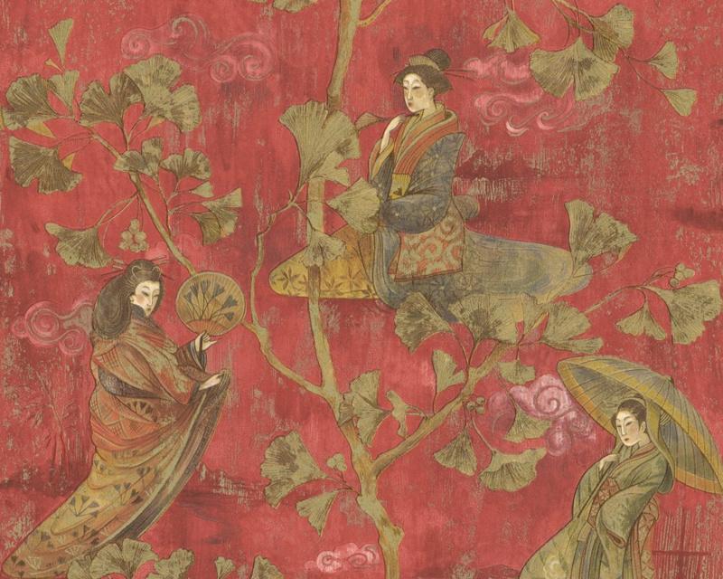 Ooster Chinees Japans Behang Onlinebehangpapier
