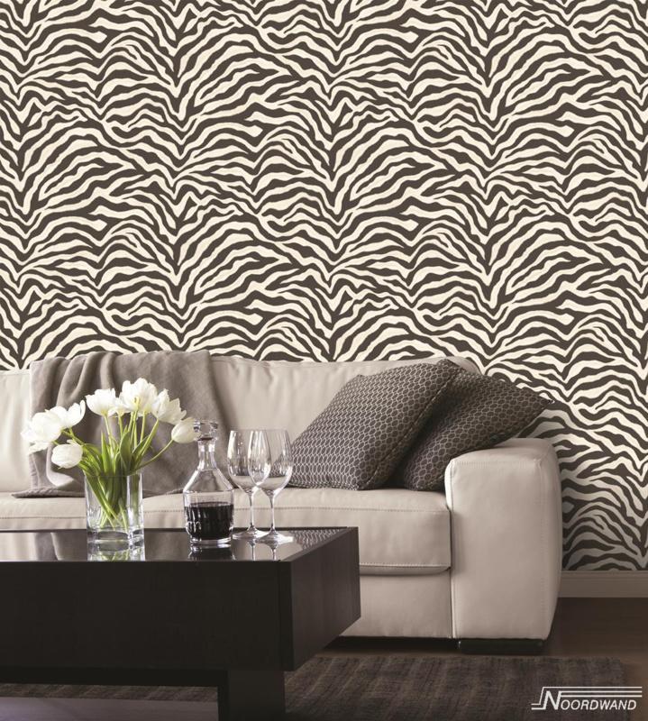 Zebra Print Behang.Dierenprint Behangpapier Bestellen Onlinebehangpapier Be 4