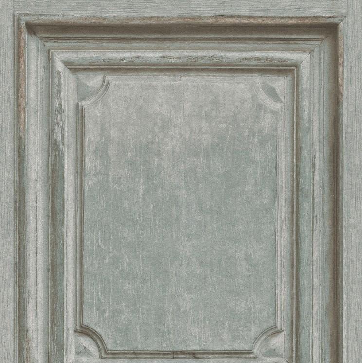 Houten Panelen bruin Behang 524413