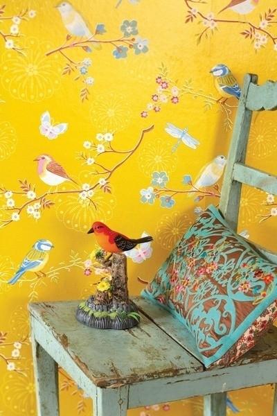 Eijffinger Pip Studio 386014 vogel behang