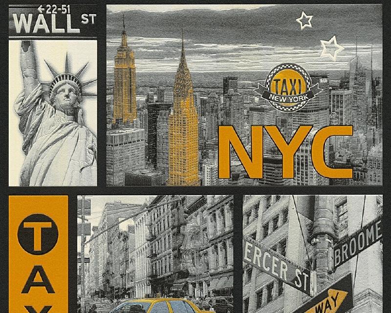 New York City Faro 4 Behang 30045-1