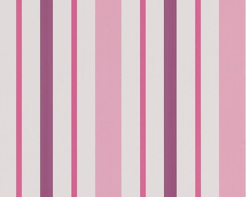 Behangpapier Streepjes Roze  8983-19
