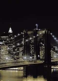 Fotobehang New York at Night 97331