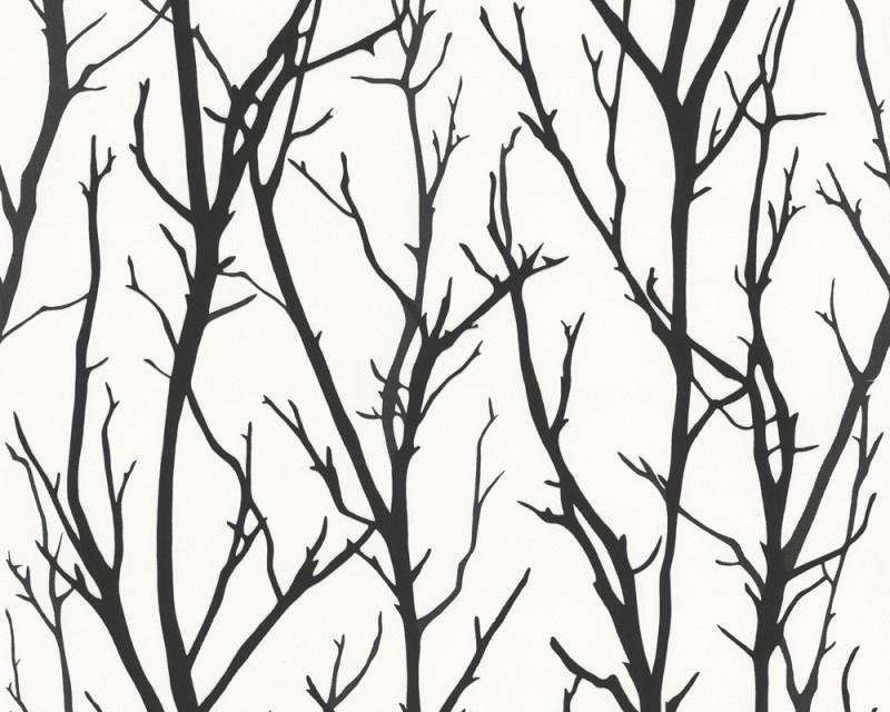 Schöner Wohnen takken behangpapier 2683-41 zwart