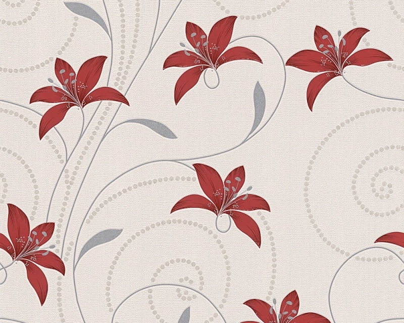 Atlanta behang 95700-1 bloemen