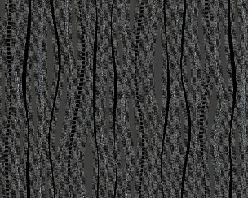 Behangpapier Glitter Zwart grijs 95879-2
