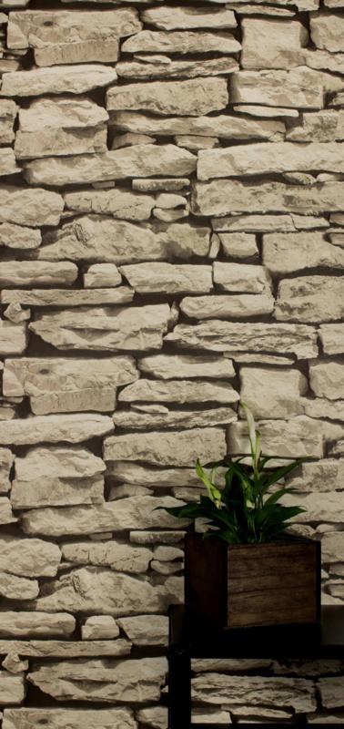 steen behangpapier 3d beige E72128