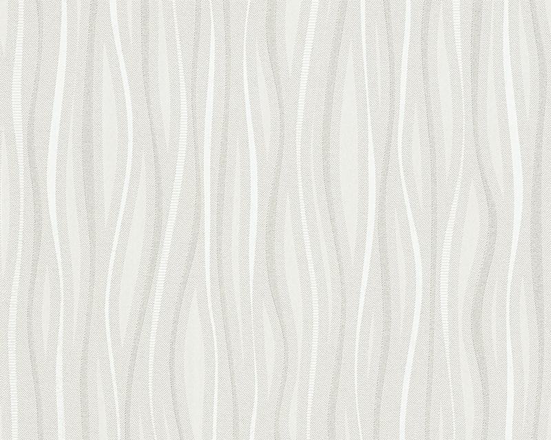 Behangpapier Glitter Wit grijs 95879-1