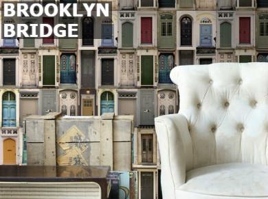 Brooklyn bridge behangpapier
