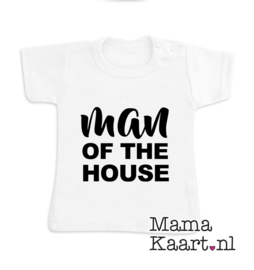 Baby  t-shirt korte mouw| Man Of The House