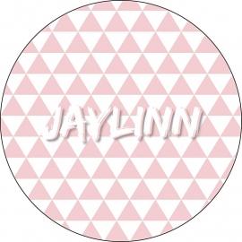 Geboortekaartje Jaylinn Rond
