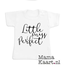 Baby  t-shirt korte mouw | Little Miss Perfect