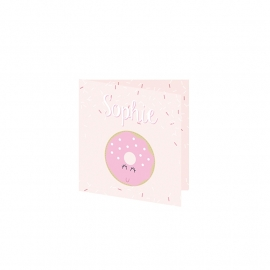 Geboortekaartje Donut