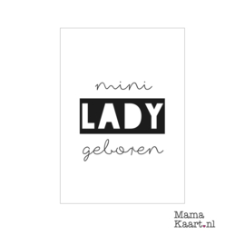 Mini lady geboren | A6