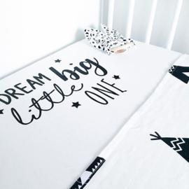 Hoeslaken Ledikant 120x60 cm | Dream Big Little One
