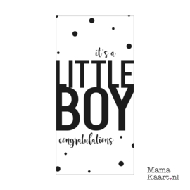 Wenskaart  | It's A Little Boy