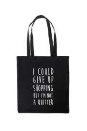 Tas katoen | I Could Give Up Shopping...