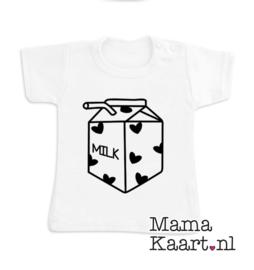 Baby  t-shirt korte mouw | Milk