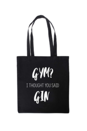 Tas katoen | Gym? I Thought You Said Gin