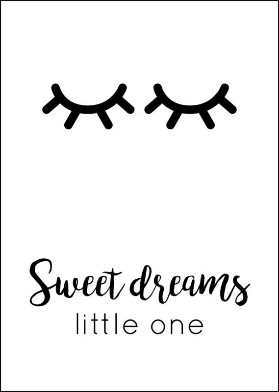 Poster - Sweet dreams little one