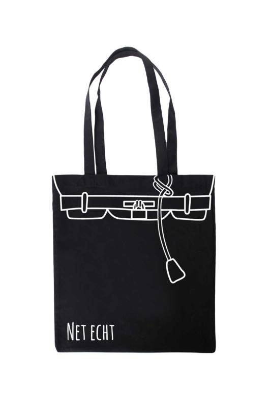 Tas katoen | Net Echt - Birkin Bag Inspired