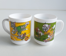 VINTAGE BEKERS TOM & JERRY