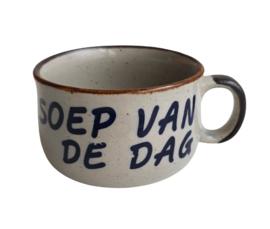 VINTAGE SOEPKOM, SOEP VAN DE DAG