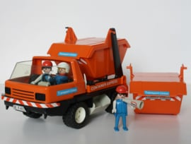 VINTAGE PLAYMOBIL  CONTAINER EXPRESS 1978