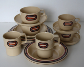 RETRO CAMPING SERVIES MEPAL 2 PERS