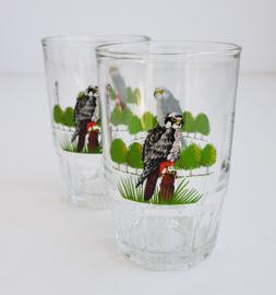 VINTAGE VOGEL GLAS