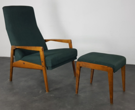 VINTAGE RELAX FAUTEUIL PETROL