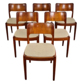 OLE DINING CHAIRS ,JOHN MORTENSEN FOR KOEFOEDS